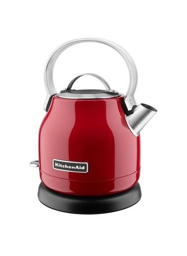 KitchenAid Paslanmaz Çelik Kettle 1.25 Litre Su Isıtıcı Kırmızı